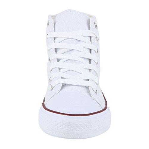 Stivaletto napoli Bianco Donna Pantofole a Rosso fashion BUfqwU7