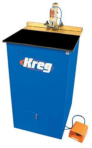 Kreg DK1100 FE 1-1/2 Horsepower Floor Electric Fully-Automatic Single Spindle Pocket Machine