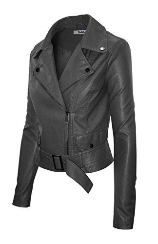 Silver Bike Leather Jacket - 2