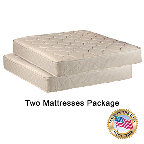 Bunk Bed Package - Comfort Bedding Two 33'' Mattresses Package for Bunk Bed or Trundle Bed
