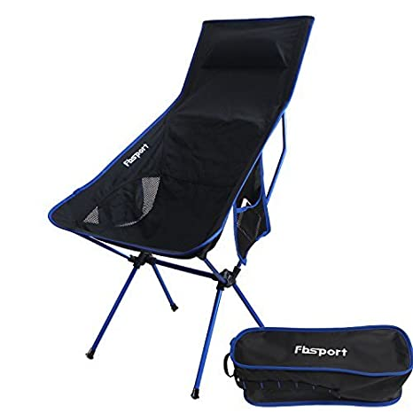 Lightweight Folding C&ing Backpack ChairFBSPORT Compact u0026 Heavy Duty Portable Chairs for Hiking Picnic  sc 1 st  Amazon.com & Amazon.com : Lightweight Folding Camping Backpack Chair FBSPORT ...