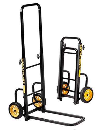 - Rock-N-Roller RMH1 Mini-Handtruck with 200 lbs. Load Capacity, Black