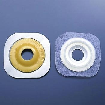 CenterPointLock Convex FlexWear Standard Wear Skin Barrier with Porous Paper Tape - 2 1/4