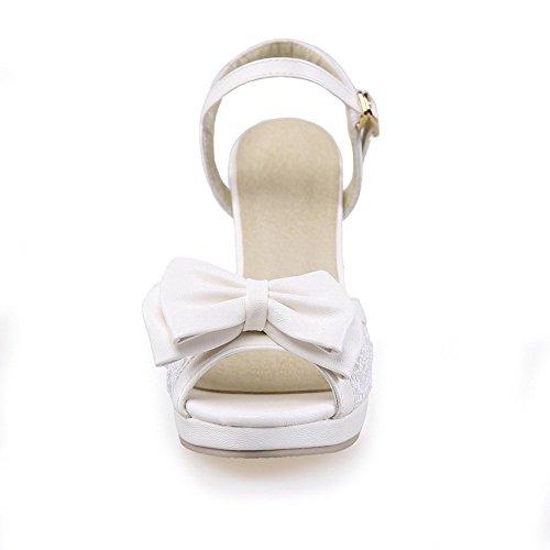 1TO9 Blanc Plateforme 36 5 Femme MJS03620 EU Blanc Inconnu dBPqxpwd