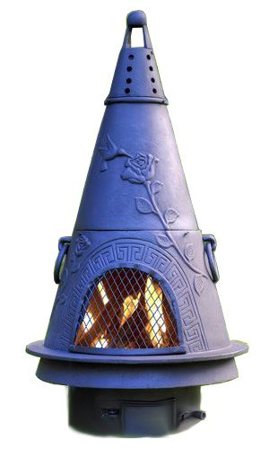 Amazon Com Chiminea Outdoor Fireplace Wood Burning Garden Design