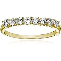 1/2 cttw Diamond Wedding Band in 14K White Gold