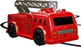 Magic Inductive Truck[Follows Black Line] ,Axiba Magic Pen Car Fire Engine Model Toy for Kids & Children with Battery Included
