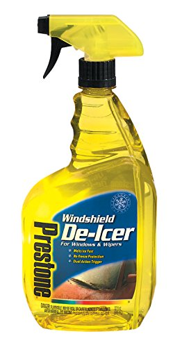 Prestone AS247-6PK Trigger Spray Windshield De-Icer, 32 oz. (Pack of 6) (Best Windscreen De Icer)