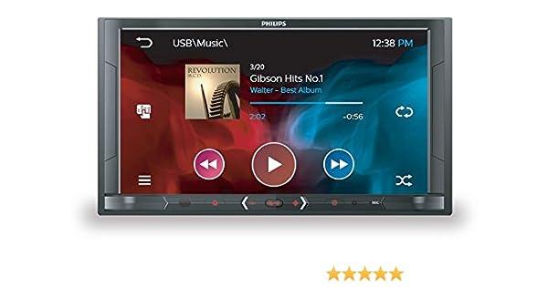 Philips Sistemas de vídeo para el coche CE600BT/12: Amazon.es: Electrónica