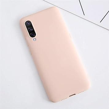 XunEda Funda para Xiaomi Mi A3, Ultra Ligero Funda Suave Caso Silicona Liquida Carcasa Protectora Case +Protector de Pantalla para Xiaomi Mi A3 Smartphone(Rosa Claro): Amazon.es: Electrónica