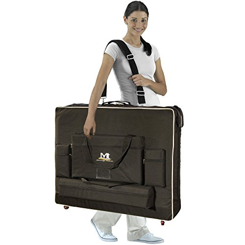 """Mt Massage Tables 30"""" wheeled Carrying Case Bag with"""