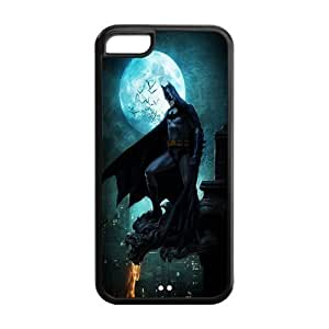 diy phone case5C Case, ipod touch 5 Case - Fashion Style New Batman Painted Pattern TPU Soft Cover Case for ipod touch 5 (Black/white)diy phone case