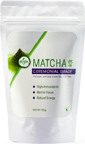 aiya america cooking grade japanese matcha green tea 100 gram bag health. Black Bedroom Furniture Sets. Home Design Ideas