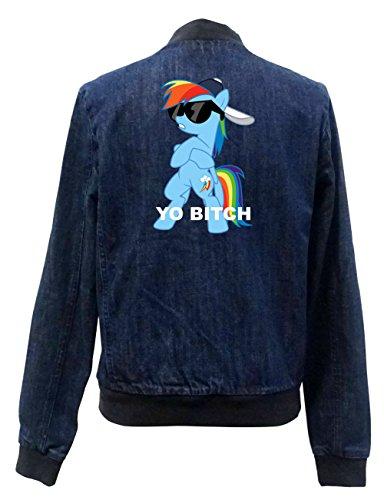 Yo Girls Bitch Chaqueta Certified Bomber Freak Pony Jeans wSRWvrnPwq