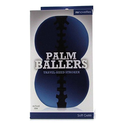 Ns Novelties Palm Baller Male Masturbator, Blue