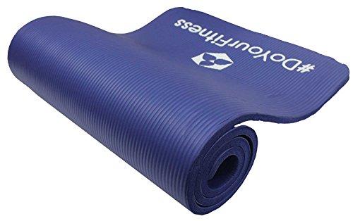 Fitnessmatte »Yamuna« / EXTRA-dick und weich, ideal für Pilates, Gymnastik und Yoga, Maße: 183 x 61 x 1,5cm, blau