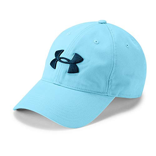 Under Armour Men's Golf Chino 2.0 Cap, Venetian Blue (448)/Techno Teal, One Size