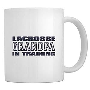 Teeburon Lacrosse GRANDPA TRAINING Taza