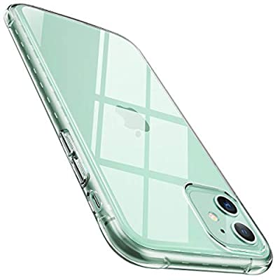 AINOPE Compatible iPhone 11 Cases, Cyrstal Clear [Anti-Drop] Phone Case for iPhone 11 [Soft Sillicone TPU] [Scratch-Resistant] with Screen and Camera Protection iPhone 11 Cover 6.1in (2019)