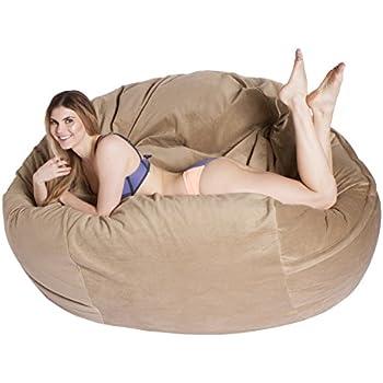 Amazon Com Comfortsacs Bean Bag Chairs Premium Foam