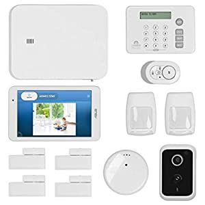 LifeShield, an ADT Company – 14-Piece Easy, DIY Smart Home Security System – Optional 24/7 Monitoring – Smart Camera – No Contract – Wi-Fi Enabled – Alexa Compatible