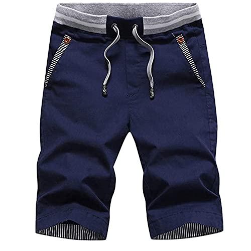 Korte broek heren shorts zomer met elastiek joggingbroek fitnessbroek sport shorts trainingsbroek tennisbroek
