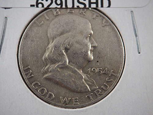1954 D Franklin Half Dollar Half Dollars Ungraded ()