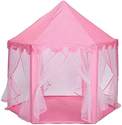 Cute Baby Kids Play Tent Portable Folding Princess Castle Tent
