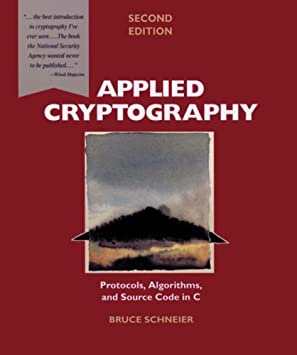 Image result for Applied Cryptography: Protocols, Algorithms And Source Code in C
