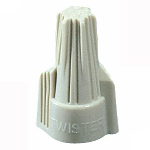 - Ideal 30-441J, Twister 341 Wire Connector, Tan, Pack of 2400 pcs