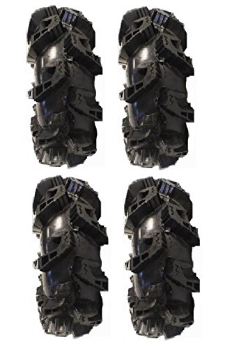 Full set of Gorilla Silverback MT2 33x10-14 ATV Mud Tires (4)