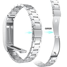 AutumnFall Fitbit Flex Smart Watch Bands,New Arrval Stainless Steel Strap Wrist Band Replacement Bracelet For Fitbit Flex