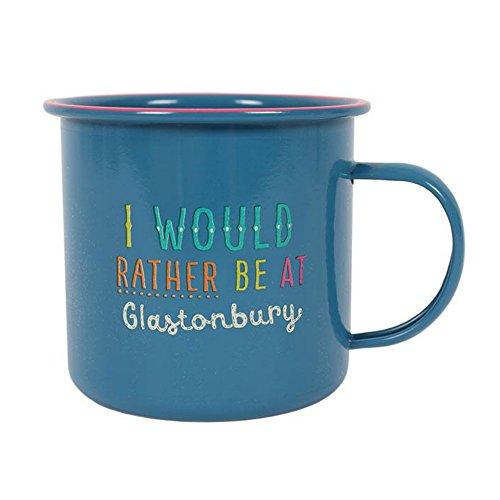 'I Would Rather Be At Glastonbury' Mug