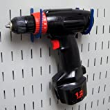 Wall Control KT-200-DLX BU Slotted Storage Panel