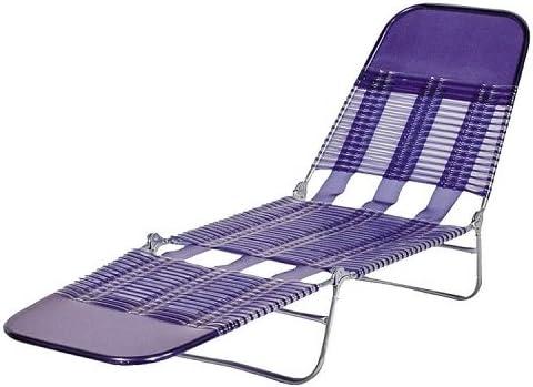 Amazon Com Pvc Folding Chaise Royal Blue Home Kitchen