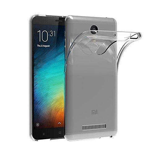 Case for Xiaomi Redmi Note 3 (5.5 inch) MaiJin Soft TPU Rubber Gel Bumper Transparent Back Cover