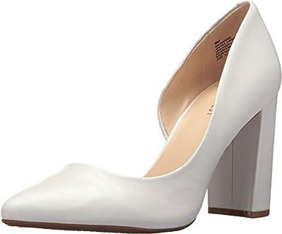 Nine West Women's Anisa9X White Leather 6 M US M