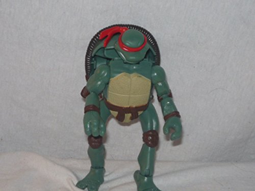 TEENAGE MUTANT NINJA TURTLES- Vintage 2007 Teenage Mutant Ninja Turtles SWITCH HEAD RAPHAEL/TURTLE Action Figure- 6 Inches in Length