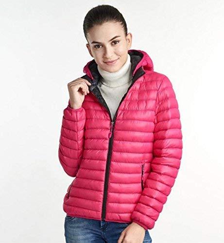 Abbigliamento Rosa Coppia All'aperto Cotone Inverno Piume Rimovibile Tempo Nuovo Di Autunno Libero Sport Donna Giacca E Uomo Spessa Cappello Amanti Caldo Rqt1w0x7
