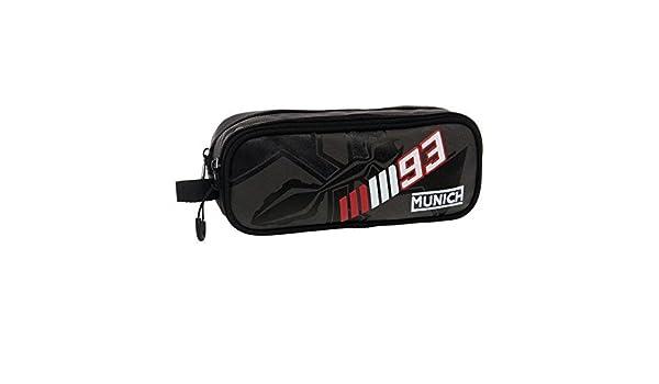 Munich Marc Marquez 93 Neceser de Viaje, 1.45 litros, Color Negro: Amazon.es: Equipaje