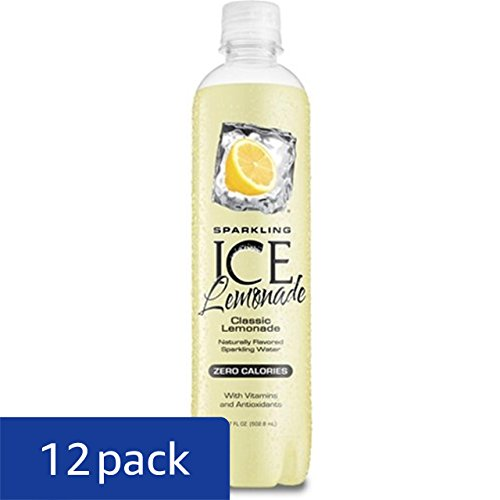 Review Sparkling Ice Lemonade, 17 Ounce Bottles (Pack of 12)