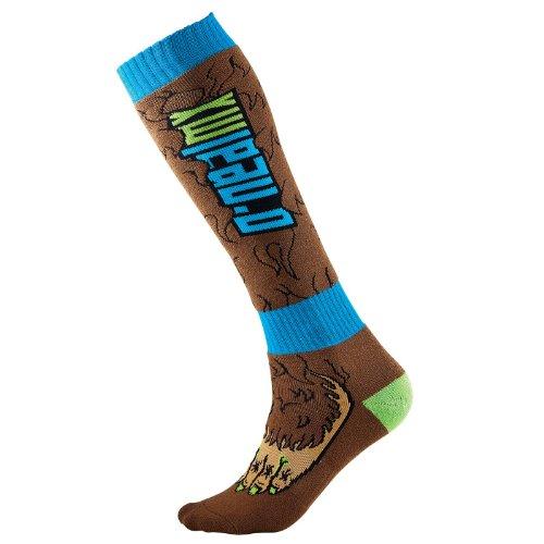 O'neal Pro Bigfoot MX Socken Einheitsgröße braun/blau 2016