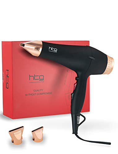 HTG Professional Hair Dryers Ionic Blow Dryer 1875w AC Motor Hair dryer for...
