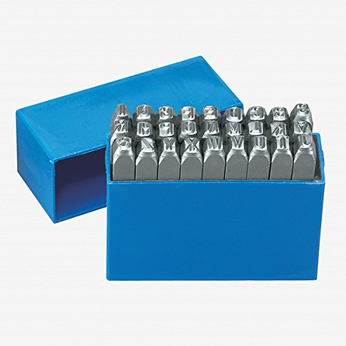 Gedore Letter punch set 27 pieces