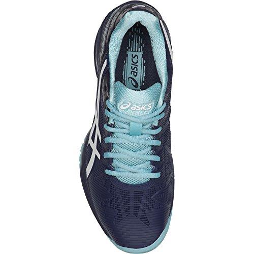 Asics Gel-Solution Speed 3, Zapatillas de Tenis Mujer Multicolor (Indigo Blue/white/porcelain Blue 4901)