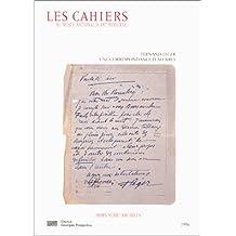 CAHIERS HORS SERIE CORR. LEGER-ROSENBERG