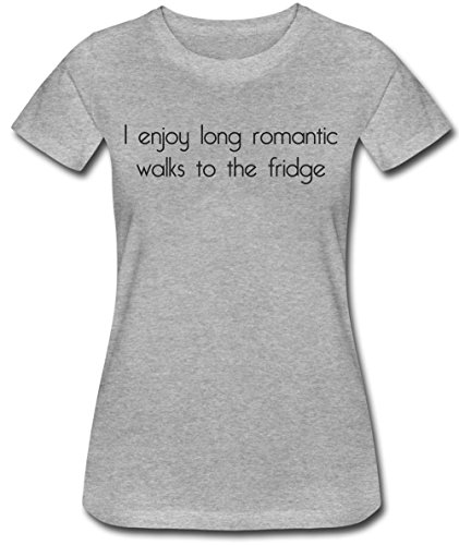 I Enjoy Long Romantic Walks To The Fridge Women's T-Shirt