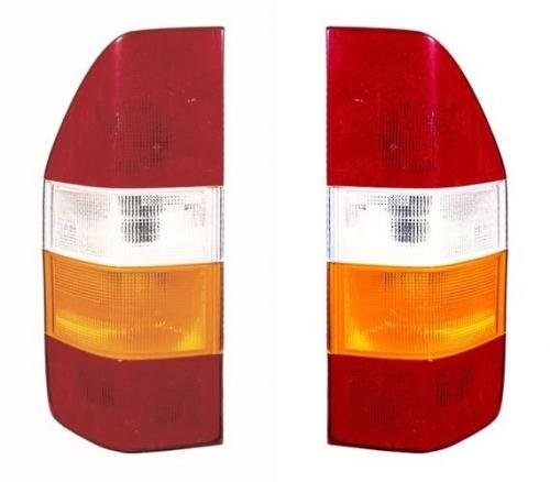 Go-Parts PAIR/SET OE Replacement for 2003-2006 Dodge Sprinter Van Rear Tail Lights Lamps Assemblies/Lens / Cover - Left & Right (Driver & Passenger) for Mercedes-Benz Sprinter ()