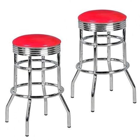 Barhocker American Diner Barstuhl 50er Jahre Retro Stuhl US Style Tresenstuhl