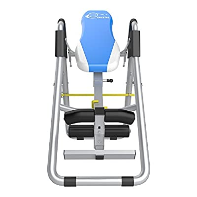 Ainfox Diophros Heavy Duty Inversion Table, Back Stretching Machine Inverted Therapy System with Adjustable HeadrestSafety Support